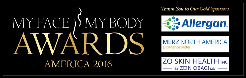 The Aesthetic Center for Plastic Surgery for the MyFaceMyBody Awards!