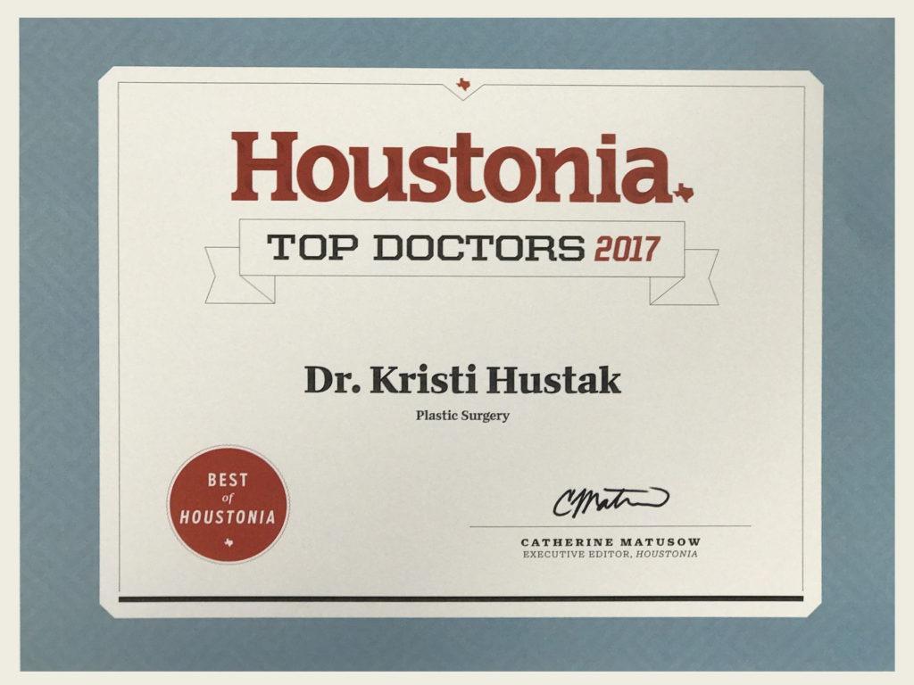 Dr Kristi Hustak Top Doctor Plastic Surgery Houstonia Magazine